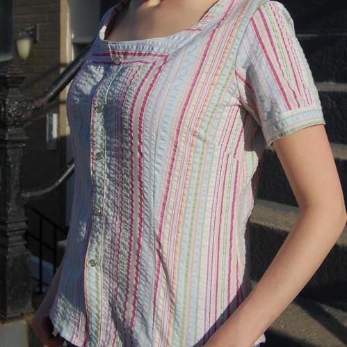 Stripey shirt by Sarah