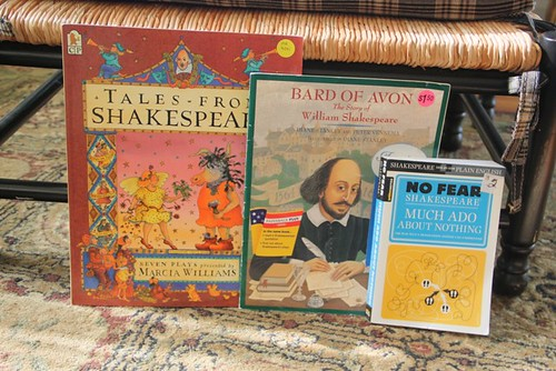 shakespeare finds