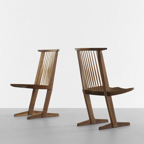 George Nakashima, Conoid chairs
