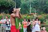 Smith's Garden Luau Imu Ceremony (John Petrick) Tags: hawaii blowing luau kauai wailua conchshell kaluapig smithstropicalparadise wailuariver smithfamilygardenluau waltersmith d90 hawaiivacation kauaihawaii kauaivacation nikon2470mm hawaiiluau blowingaconchshell kauailuau wailuamarinastatepark