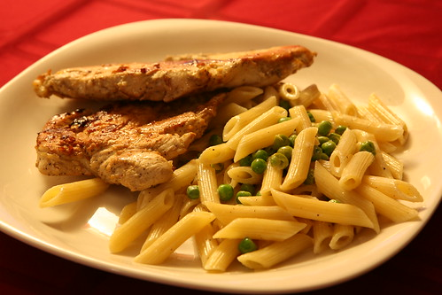 Chicken and Lemon cream penne