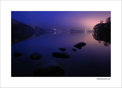 Night on the Lake (Ian Bramham) Tags: longexposure england lake colour night landscape photo nikon grasmere lakedistrict explore cumbria northern thelakedistrict d40 vosplusbellesphotos ianbramham lakedistrictjl
