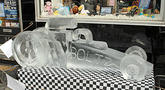 Lititz Fire and Ice 2009- 2 (KathyCat102) Tags: sculpture ice icesculpture lititz lititzpa fireandice