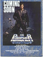 The Punisher movie ad -- 1989 (Paxton Holley) Tags: magazine comics advertising comicbook movies marvel punisher thepunisher dolphlungren