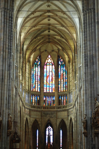 Castle Cathedral, Prague, Interior