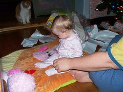 Opening Presents 3 (Ludeman99) Tags: sarah eowynlouisebitner