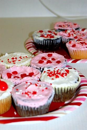 Valentine's Cupcakes. Day 45