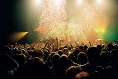 Lomo 0601 (ukaaa) Tags: film analog 35mm concert lomo lca lomography belgium kodak gig crowd belgi firework confetti negative pointandshoot analogue 135 sigurrs portra portra160vc forestnational vorstnationaal lastfm:event=684763