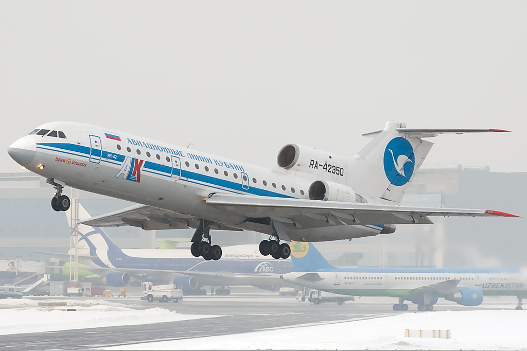 Kuban Airlines (ALK-Avialinii Kubani) RA-42350 Yakovlev Yak-42