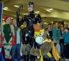The Masked Mustang loves Catwoman