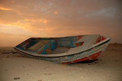 boot (mpudi97) Tags: travel sunset beach boat morocco maroc twop morokko westsahara mpudi97