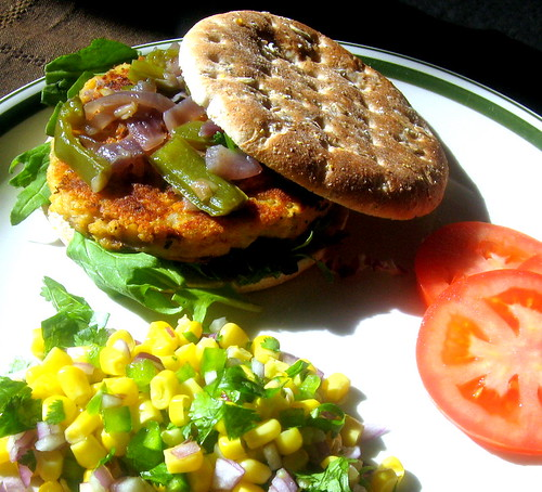 Veggie & Bean Burger