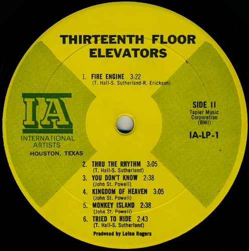 13th Floor Elevators / The Psychedelic Sounds Of The 13th Floor