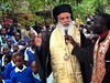 Funeral Speech by Archbishop Makarios of Kenya (photo by Constantine Markides)