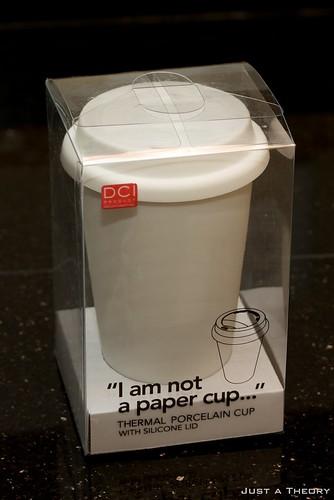 I am not a paper cup…
