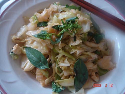 Stir-fry Taiwanese Cabbage