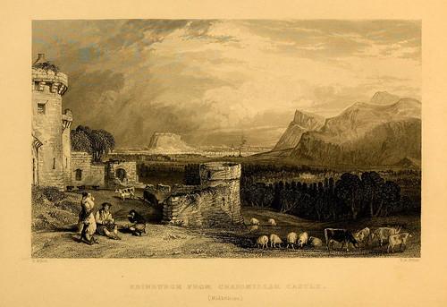 025- Edimburgo desde el castillo de Craigmillard