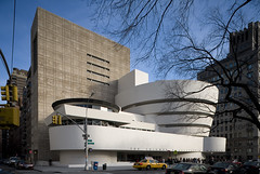 Frank Lloyd Wright, Solomon R. Guggenheim Museum, New York, 1956-59 (rpa2101) Tags: canon 5d tse 24mm long exposure neutral density architecture museum new york wright frank lloyd fifth avenue 5th ave guggenheim late work curve spiral round concrete cantilever culture upper east side museummile 88th st 89th modern modernism art humanities arthumanities exterior gwathemy siegal addition 1992 white restoration ramp guggenheimmuseum artmuseum museumarchitecture mile visipix