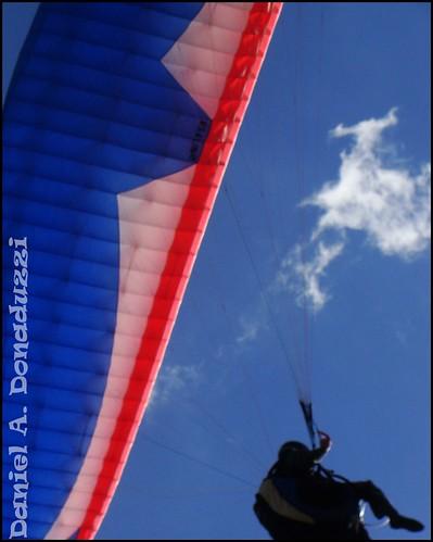 Paraglider no Ferrabraz
