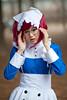 meirin from kurotshitsuji at Yangjae cosplay convention Seoul South Korea (Derekwin) Tags: blue zeiss glasses nikon comic cosplay character cartoon korea korean seoul nurse redhair gangnam zf yangjae meirin d700 zeisszf nikond700 zeiss85f14zf