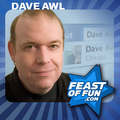 Writer and performer Dave Awl talks about Facebook on the Feast of Fools