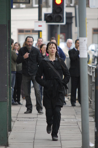 "Kate Dickie ""Outcast"" Filming"