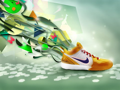 nike sport (Martin Stasiuk) Tags: wallpaper art sport illustration photoshop design shoes graphic colorfull nike ilustration