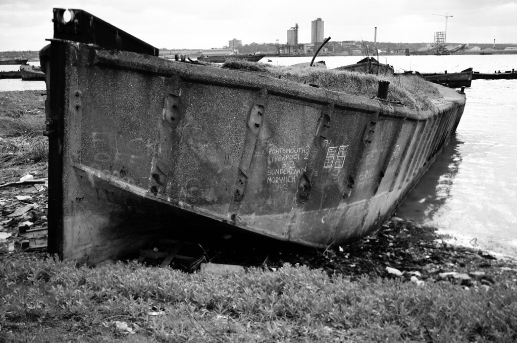 Concrete Barge Rainham 1