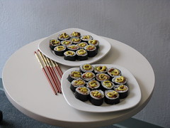 Bacon & Avacado Sushi