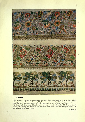 020-Muestras de bordados turcos siglo XIX