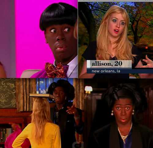 even better this week! jay tries to inmitate creepy chan allison harvard on antm