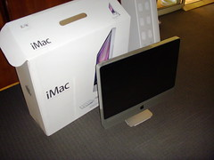 imac wireless unboxing 24inch