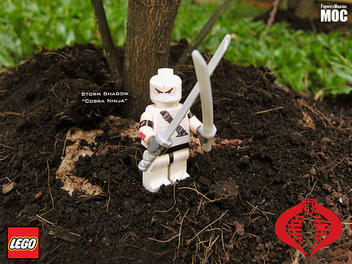 GI Joe - Storm Shadow custom minifig