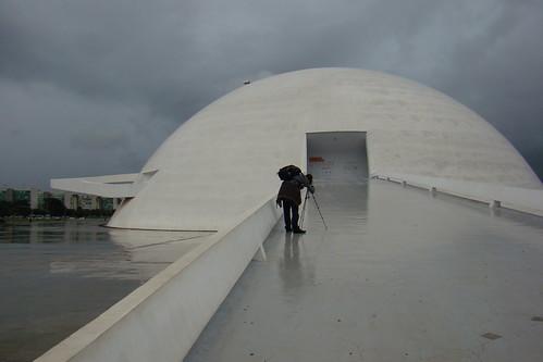 Brazil : Brazilia Museum of contemporary art : entery