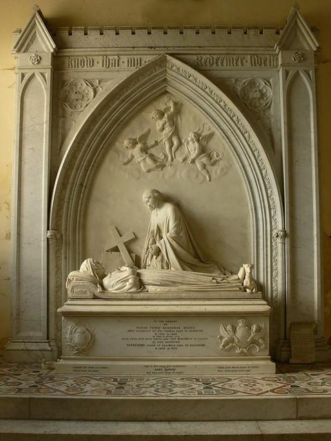 Sarah Baroness Braye Tomb