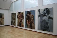 Patrick Earl Hammie: Equivalent Exchange (Jewett Art Gallery) Tags: figure oilpainting wellesleycollege