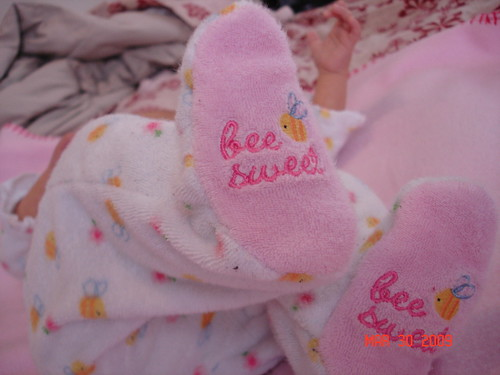 Bee Sweet Feet