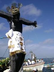 Cristo Negro de San Romn (arosadocel) Tags: arte christ cristo christi jess campeche sacro catlico crucifijo catolicismo cristianismo religin crucificado sanromn iesus cristonegro
