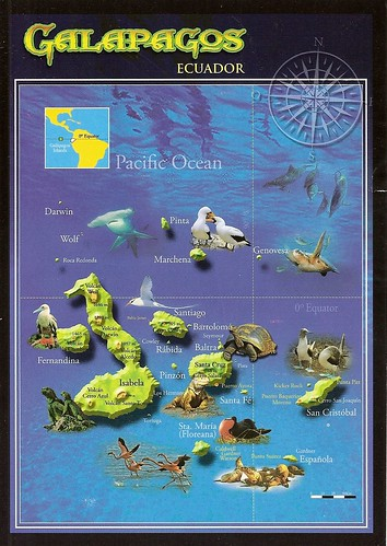 map Galapagos by gigema.