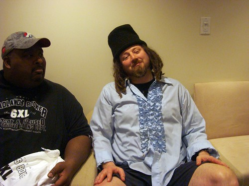 Badlands Booker and Crazy Legs Conti