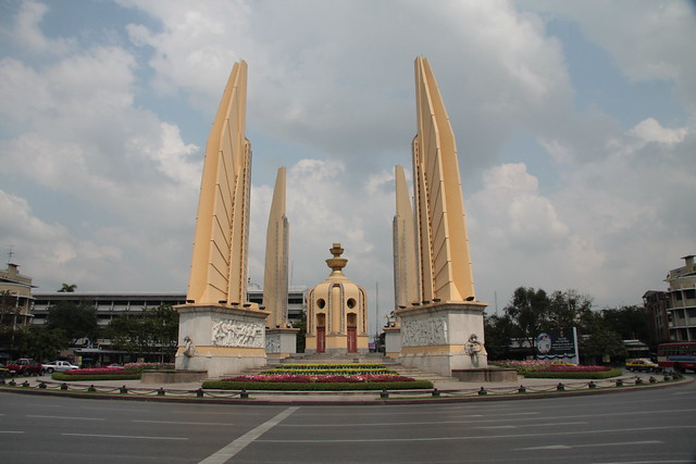 Democracy Monument in Bangkok by day