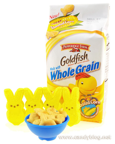 goldfish crackers flavors. Peeps + Goldfish Crackers