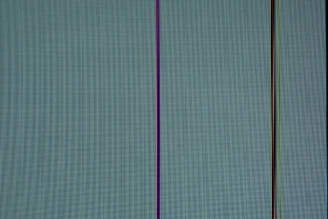 red vertical line on lcd screen