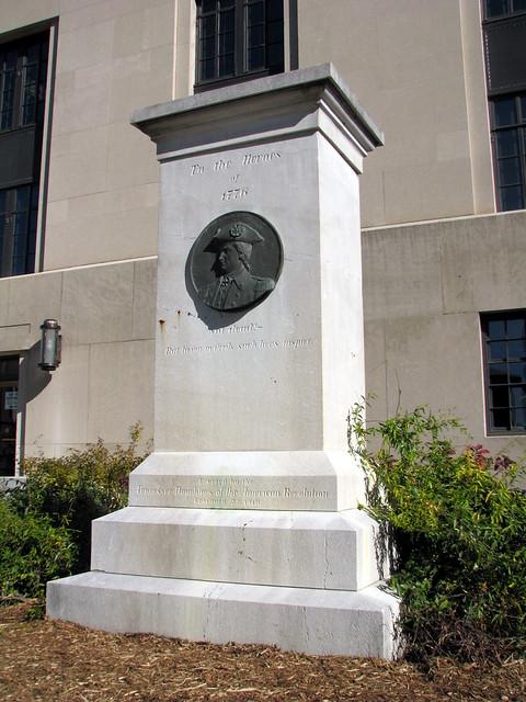 American Revolution monument - Nashville