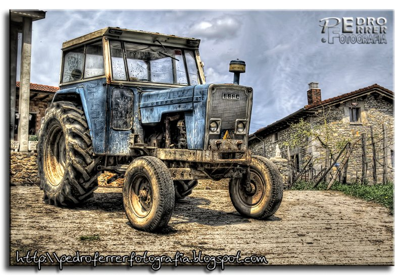Tractor Ebro HDR - Fuerza bruta made in Spain