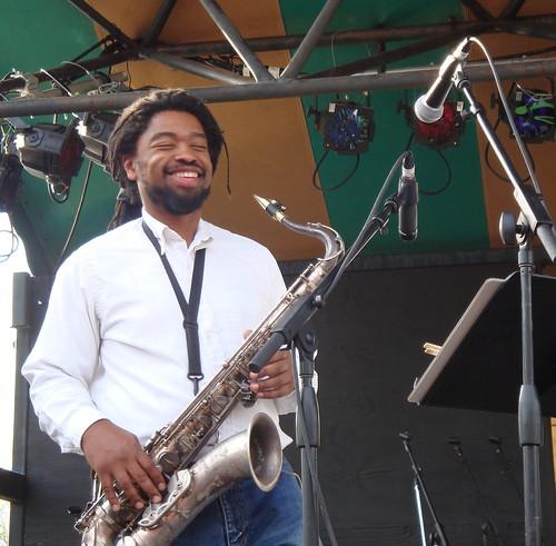 Tim smiling