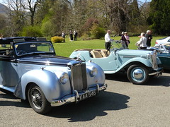 Alvis TA21 Drophead Coupe, and Singer