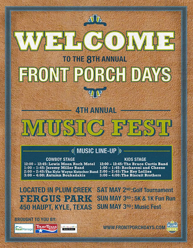 Front Porch Days Music Fest 5/3/09