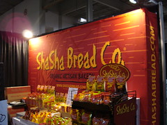 Green Living Show - Shasha bread