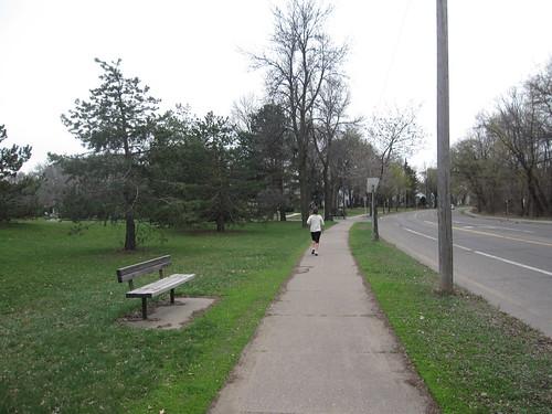 Todd Park along Portland Ave S